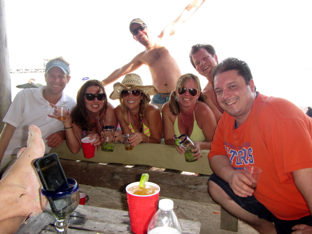 We took a break from raging to visit Costa Maya and get drunk on tequila.