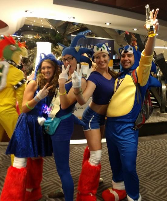 So many Sonics!