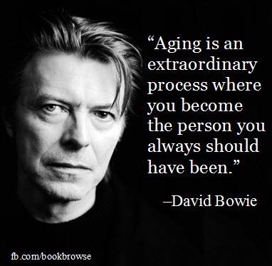 Is it any surprise that no one could put it better than David Bowie?