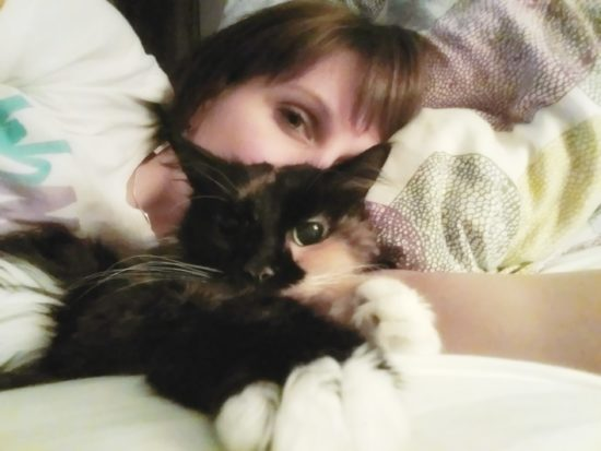 Selfies in bed with Lexi. Literally my #1 favorite past time EVER.